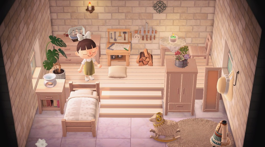Animal Crossing New Horizons Player Creates Loft In Their House With Custom Designs Nintendosoup