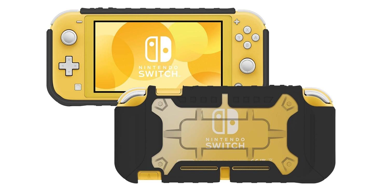 Hori Reveals Clear X Black Tough Protector Case For Nintendo