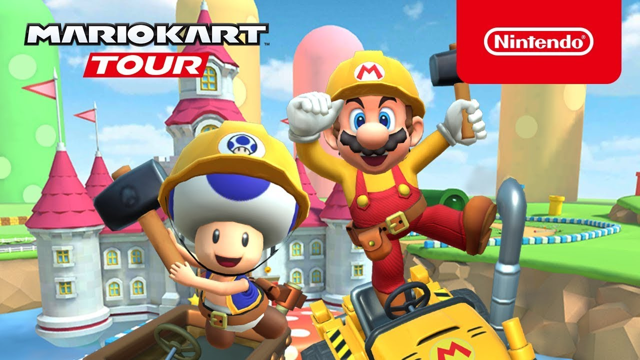 Mario Kart Tour Updated With Online Team Races And Room Codes