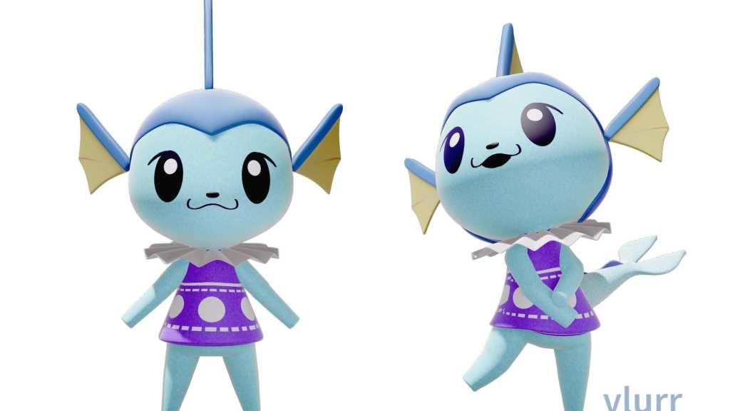 Fan Art: Eevee Family Imagined As Animal Crossing ...