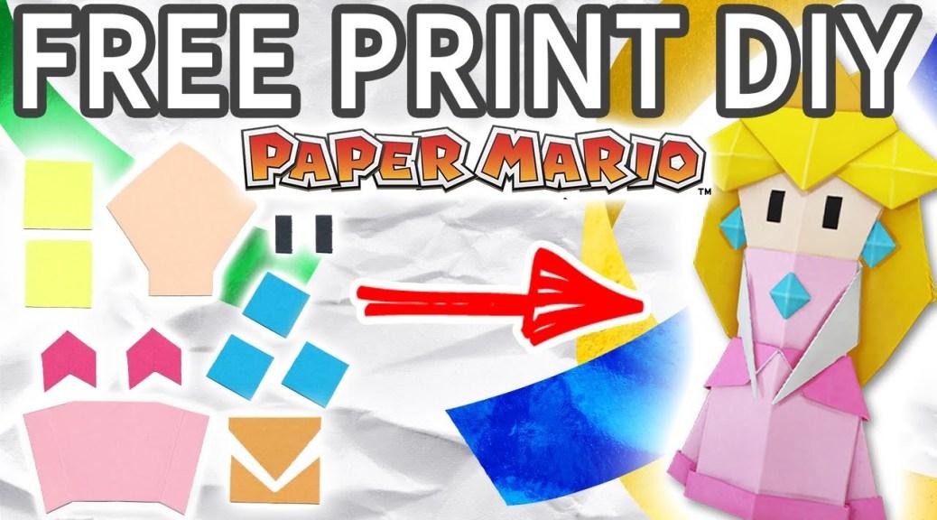 [HowTo] Φτιάξτε την Origami Peach από το Paper Mario: The Origami King