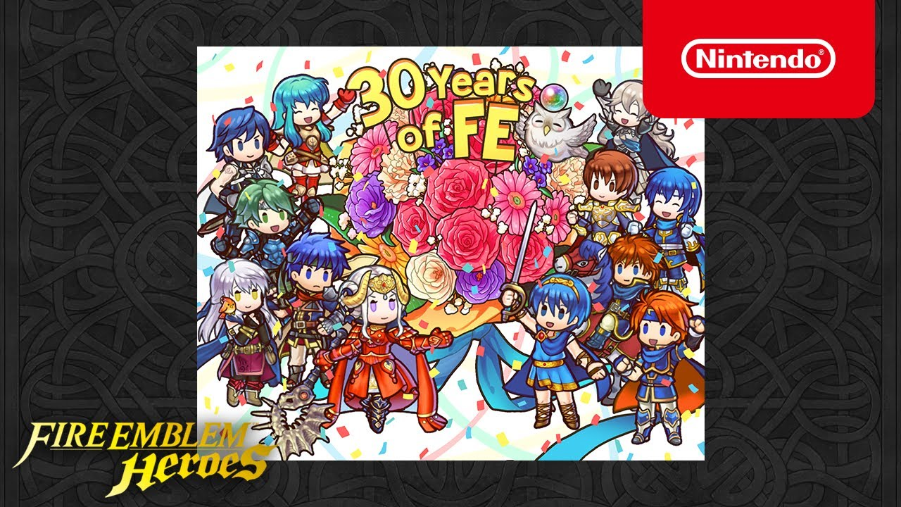 fire emblem heroes receives '30 years of fire emblem