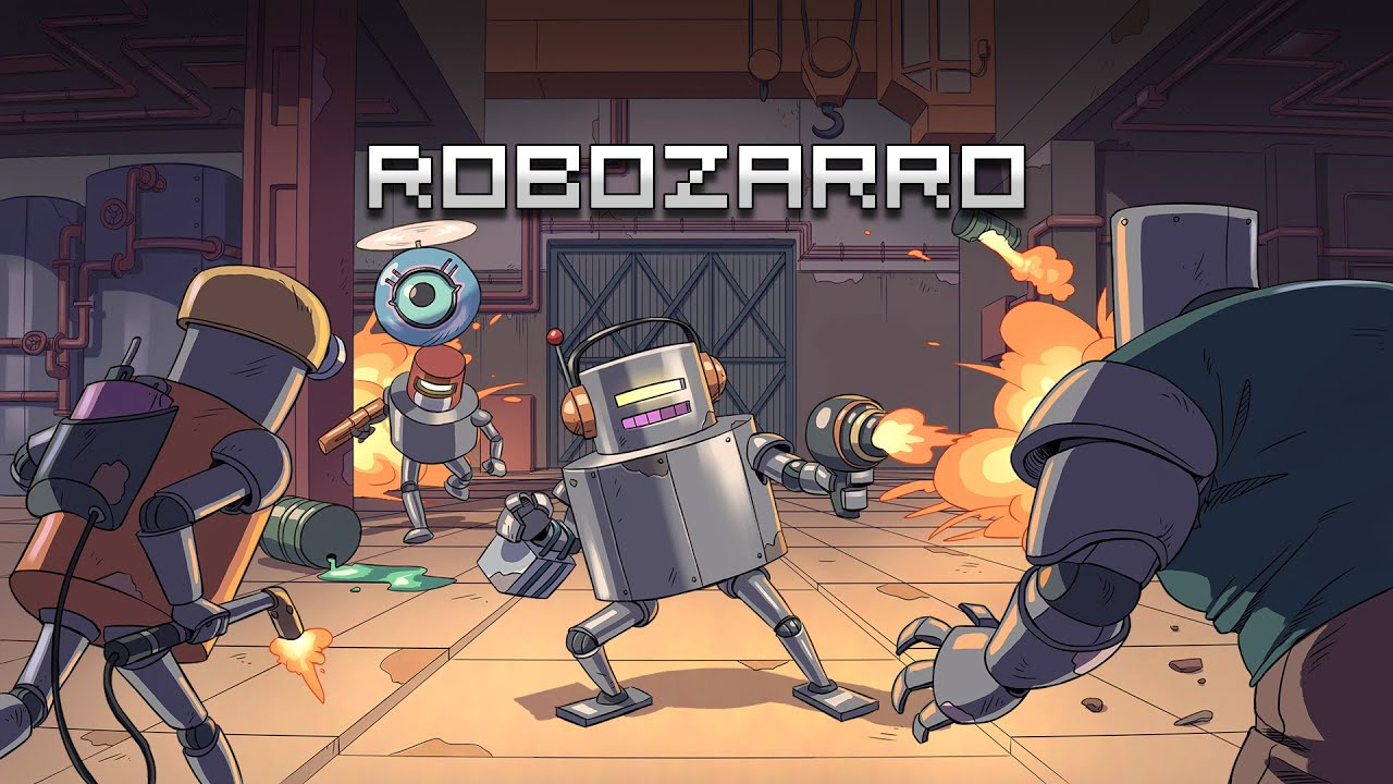 Robozarro Arrives July 9 On Nintendo Switch | NintendoSoup