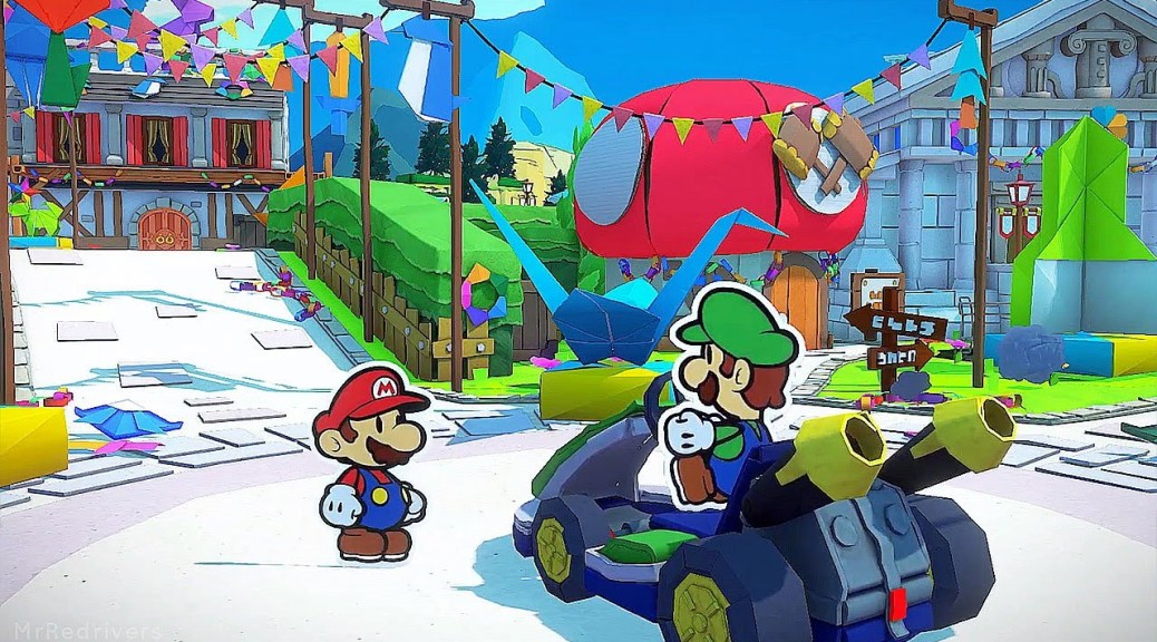 video nintendo treehouse live paper mario the origami king gameplay IaOeuD0db4I