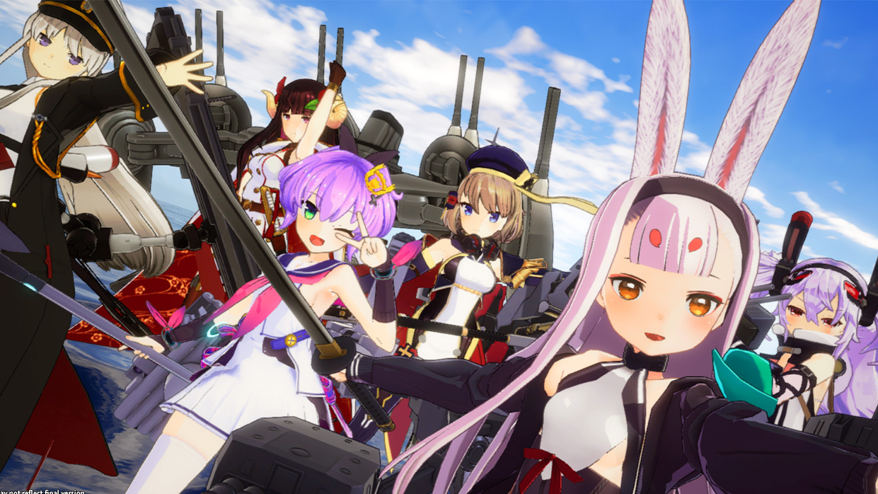 Azur Lane: Crosswave for Switch will come to the West in 2021 - gamologi.com