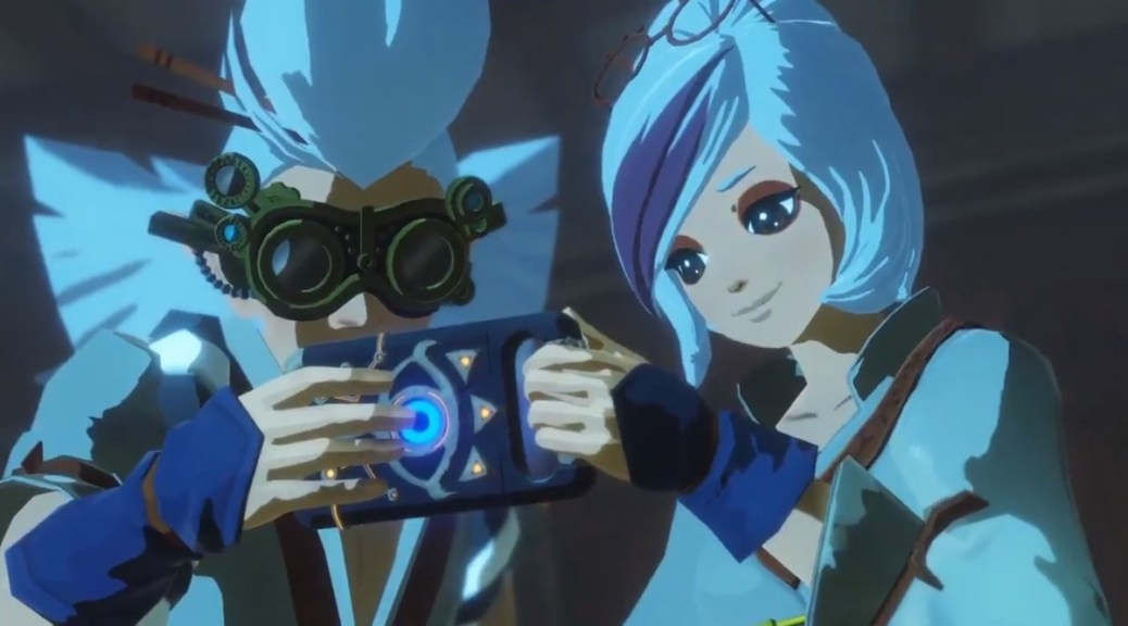 Hyrule Warriors Age Of Calamity Will Feature Robbie And Purah From 100 Years Before Breath Of The Wild Nintendosoup