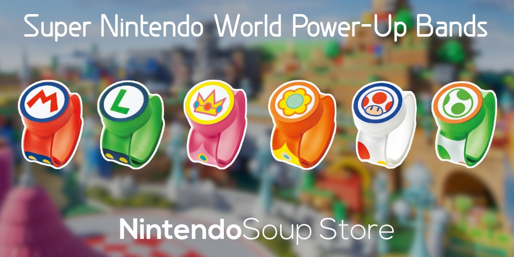 Super Nintendo World Power-Up Bands Available Now