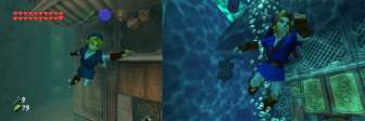 Link in the Water Temple