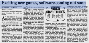 Summer CES 1987 - Ed Semrad - Milwaukee Journal June 6, 1987