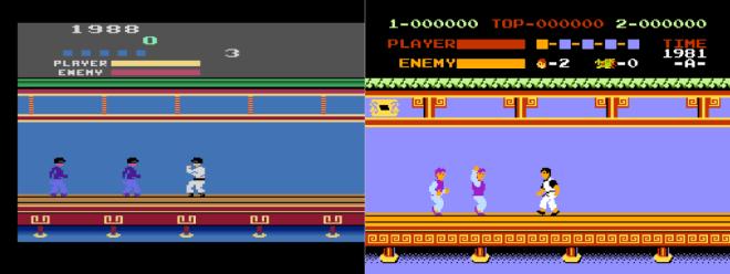 Kung-Fu-NESvsAtari