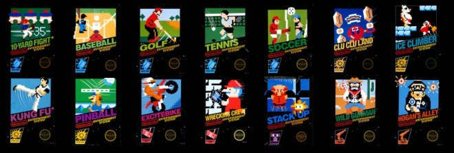 NES Launch Games