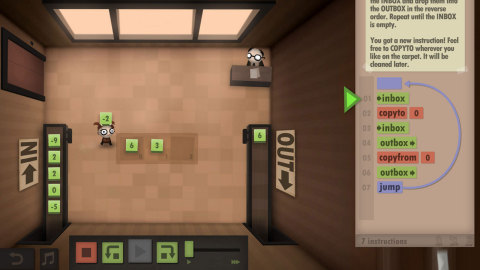 From the makers of World of Goo - Human Resource Machine is a new puzzle game.