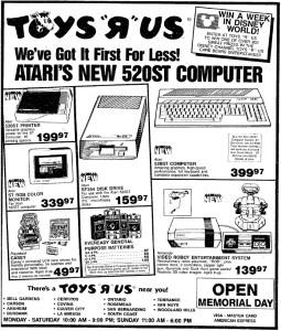NES AD - Toys R Us - 05-18-1986 - Credit Frank Cifaldi