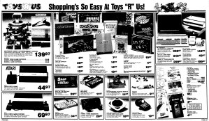 NES Ad - Toys R Us - 11-12-1986 - Madison Capital Times - Credit Frank Cifaldi