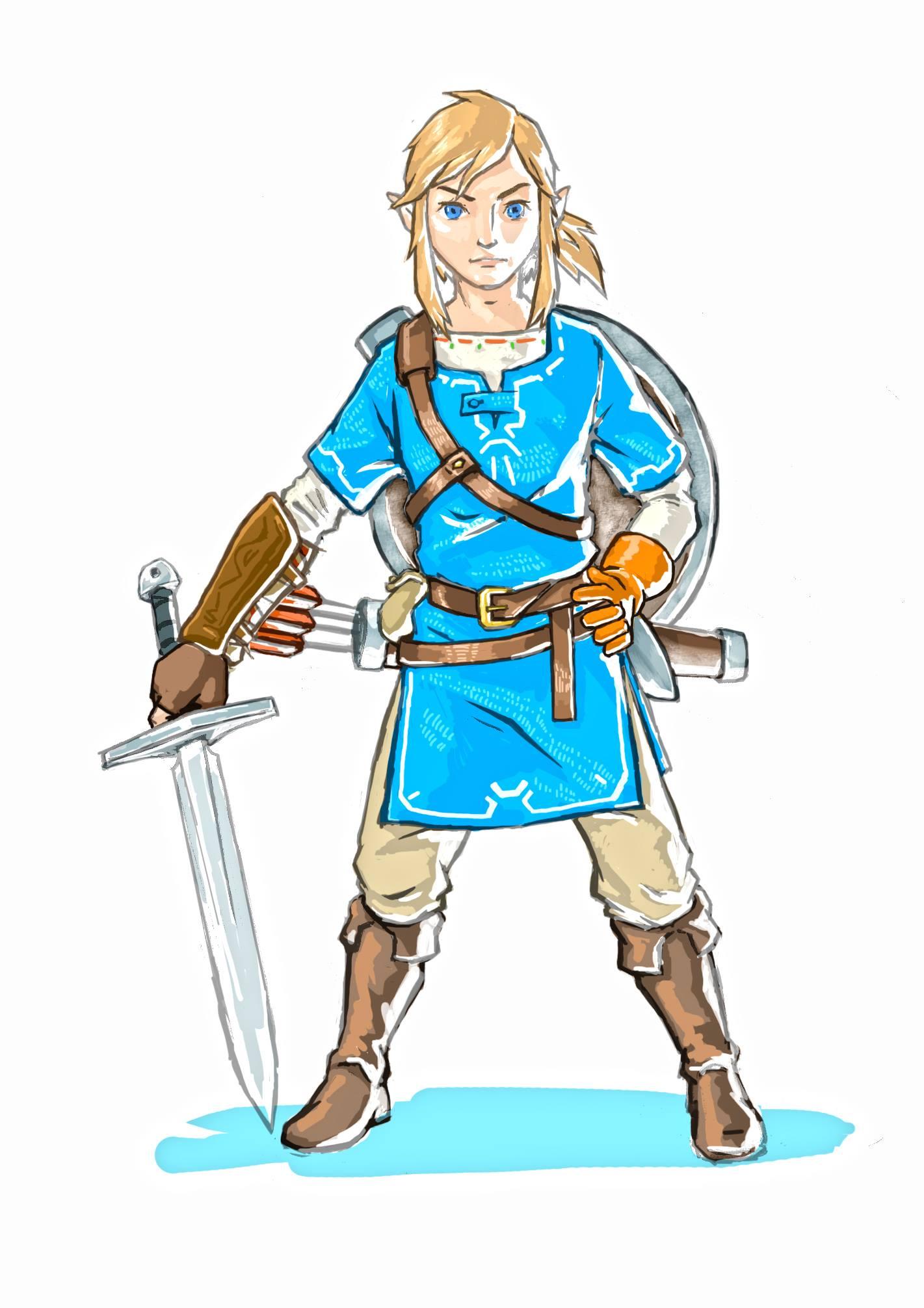 Zelda Link Art2 Nintendo Times