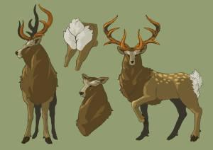 zelda-deer