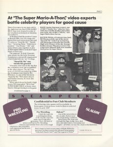 Nintendo Fun Club News - Winter 1987 - Page 3