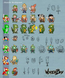 Wonder-Boy-Characters