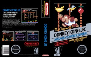 Donkey Kong Jr Box