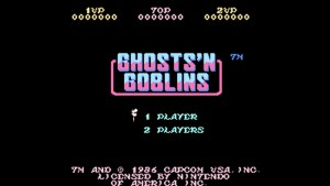 Ghosts 'N Goblins (NES) Game Hub