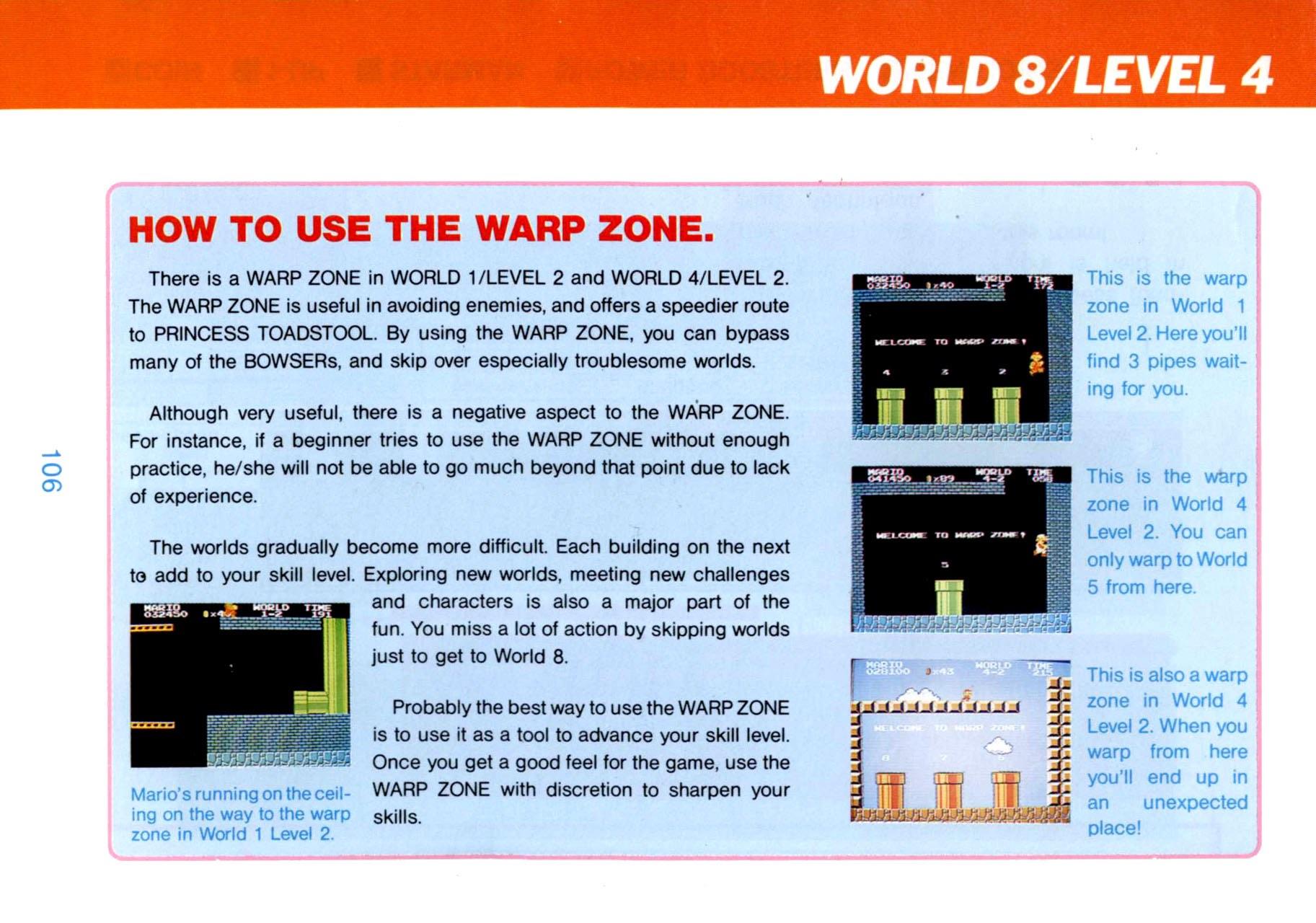 Top Secret: How To Win At Super Mario Bros  Guide – Nintendo