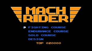 Mach Rider (NES) Game Hub