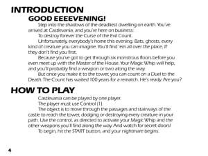 Castlevania Manual-4