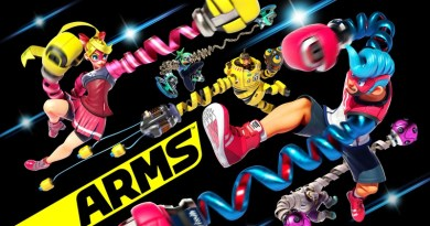 ARMS Has Updated With LAN Play & Arena Mode