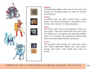 The Legend of Zelda Instruction Booklet - 30