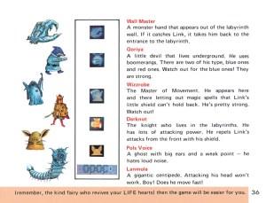 The Legend of Zelda Instruction Booklet - 36