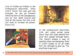 The Legend of Zelda Instruction Booklet - 9