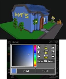 Resultado de imagen de VoxelMaker 3DS screenshots