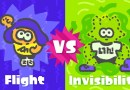 The Next Splatfest Asks Which Super Power Is Better: Flight Or Invisibility?
