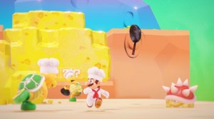 VIDEO: Super Mario Odyssey's Luncheon Kingdom Gameplay