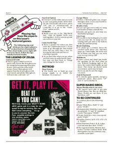 Nintendo Fun Club News - Fall 1987 - p8