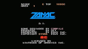 Zanac (NES) Game Hub