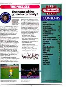 NIntendo Fun Club News | Winter 1987 - 3