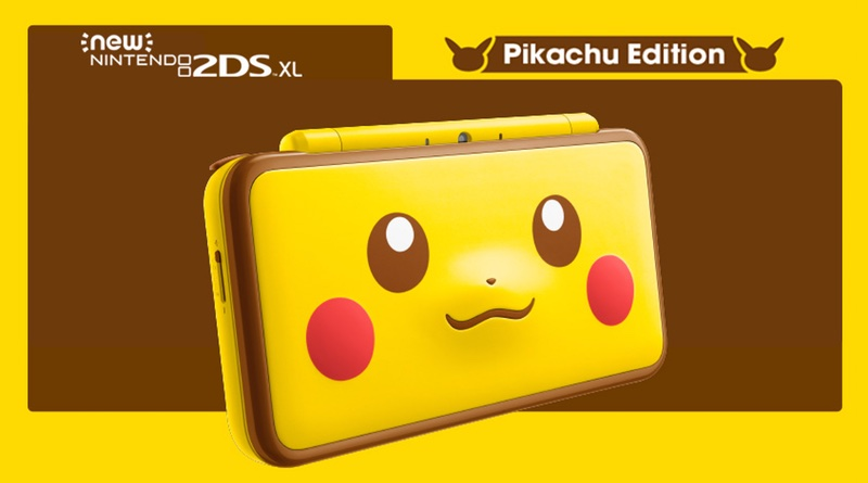 2ds xl pikachu edition bundle