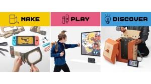 VIDEOS: Nintendo Labo Toy-Con Garage, New Trailer & Japanese Commercials