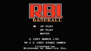 R.B.I. Baseball (NES) Game Hub