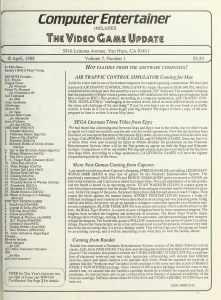 Computer Entertainer - April 1988 - pg 1