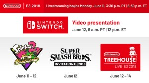 Nintendo Outlines Plans For E3 2018