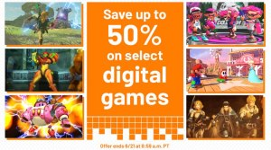 Up To 50% Off Select Digital Games On The 3DS & Switch EShops