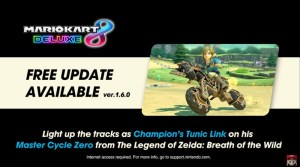 Mario Kart 8 Deluxe Gets New Zelda: Breath Of The Wild Content