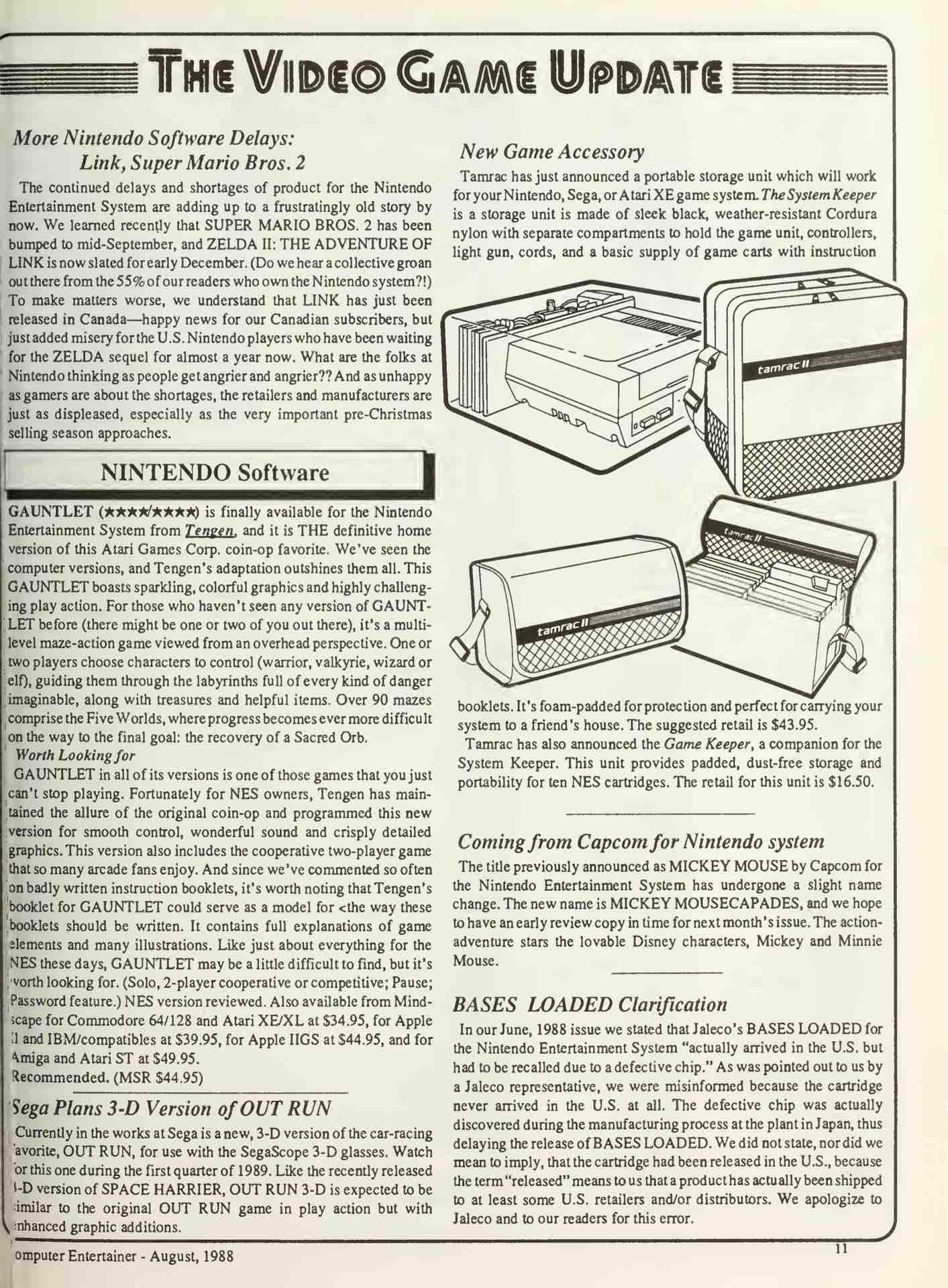 Computer Entertainer | August 1988 u2013 pg 11  sc 1 st  Nintendo Times & Computer Entertainer | August 1988 u2013 pg 11 u2013 Nintendo Times