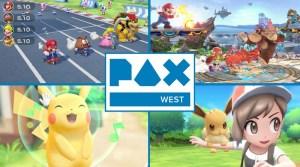 Super Smash Bros. Ultimate, Super Mario Party & Pokémon Let's Go At PAX West