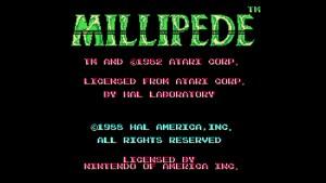 Millipede (NES) Game Hub