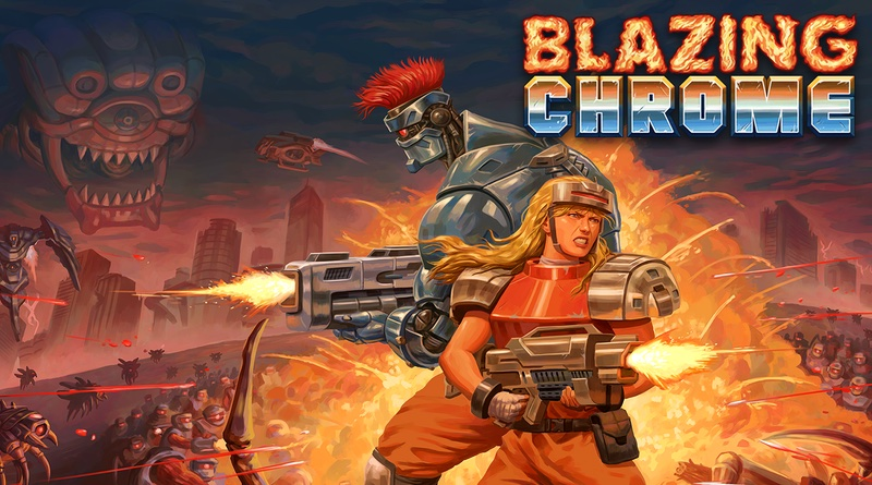 Blazing Chrome Channels Your Inner-Contra Next Month