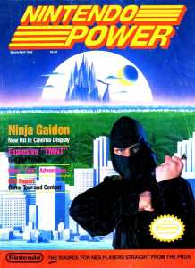 Nintendo Power | March April 1989 p001