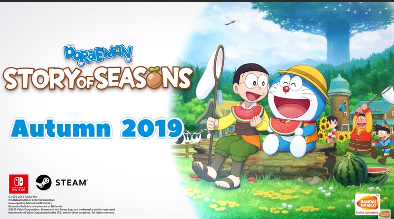 Doraemon Story Of Seasons Sprouts On The Switch eShop On October 11